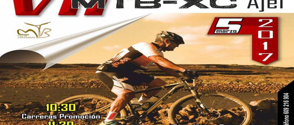 MTB XC Ajei San Bartolome marzo 2017 cartel