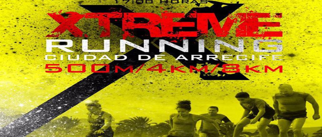 Xtreme running ciudad de arrecife 2017 cartel