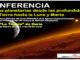 cartel conferencia sobre cuevas Haria febrero Lanzarote 2017