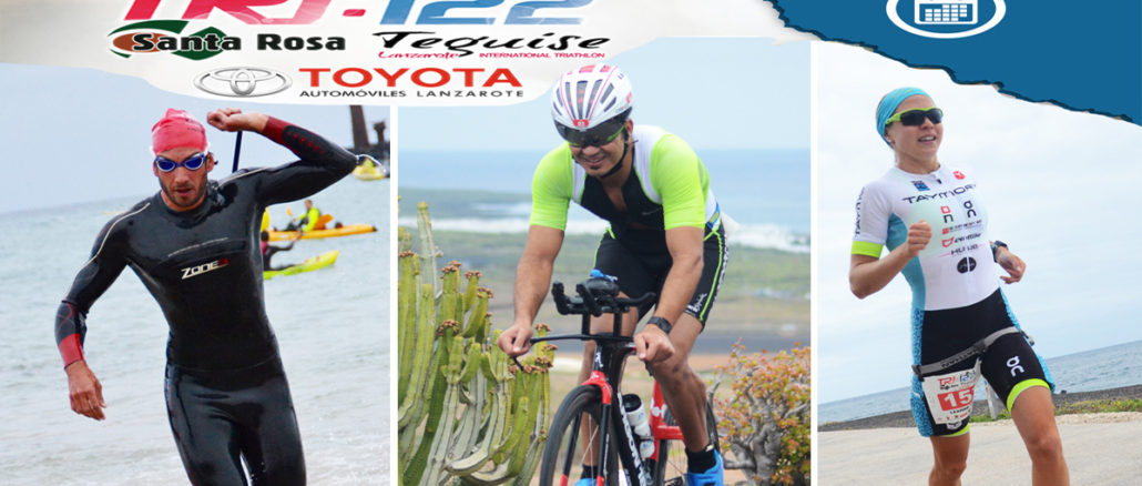 Cartel Triatlon TRI 122 Lanzarote Alsolajero.com facebook