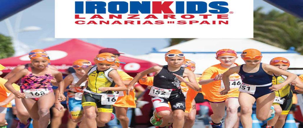 Ironkids Lanzarote 2017 cartel